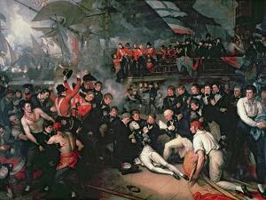 The Death of Nelson, 21st October 1805 by Benjamin West
