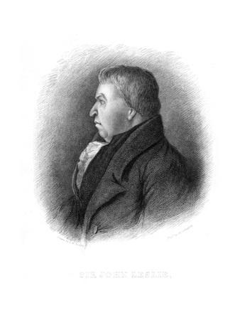 John Leslie, Scottish Natural Philosopher and Physicist, 19th Century