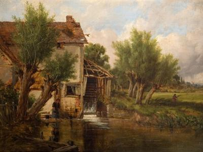 An Old Mill Near Worcester, 1880