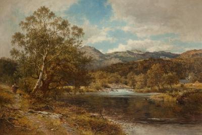 On the Llygwy, North Wales