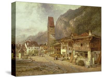 Unterseen, Interlaken: Autumn in Switzerland, 1878