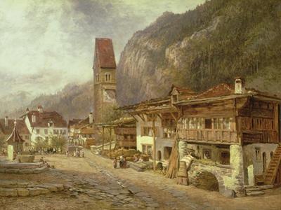 Unterseen, Interlaken: Autumn in Switzerland, 1878