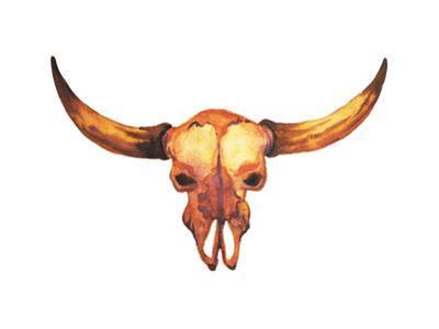 Sugar Skull Day of the Dead Illustrations Design, Bull Skull by benjavisa
