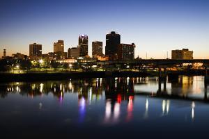 Blue Hour in Little Rock by benkrut