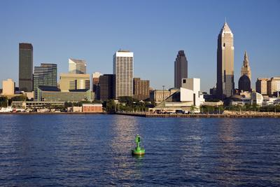 Late Afternoon in Downtown Cleveland
