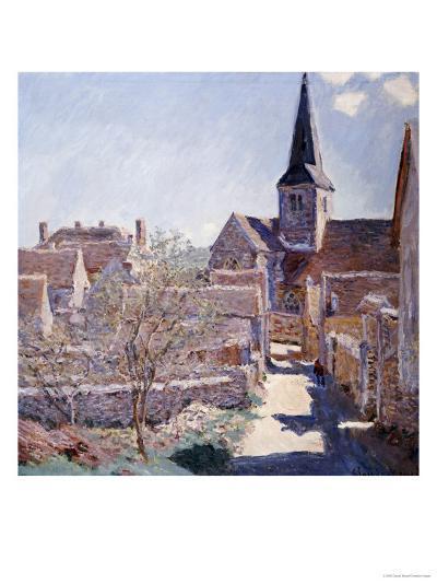 Bennecourt, 1885-Claude Monet-Giclee Print