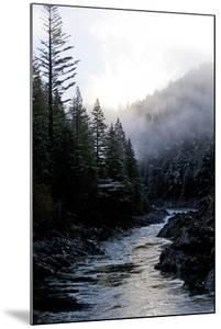 Smith River in California after a Winter Storm by Bennett Barthelemy