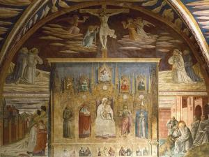 Cycle of Frescoes Depicting Life of Christ and St Jerome, 1452 by Benozzo Gozzoli
