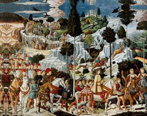 Journey of the Magi by Benozzo Gozzoli