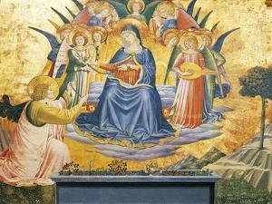 Madonna of Girdle, 1450 by Benozzo Gozzoli