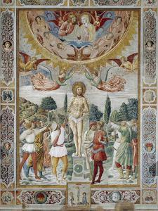 Martyrdom of St. Sebastian, 1465 by Benozzo Gozzoli