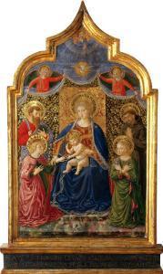 Mystic Marriage of Saint Catherine by Benozzo Gozzoli