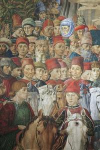 Procession of the Magi Kings to Bethlehem, 1459 by Benozzo Gozzoli