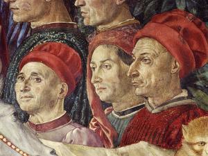 Procession of the Magi Kings to Bethlehem, 1459 by Benozzo Gozzoli