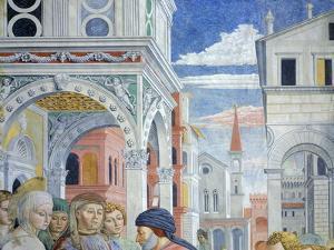 Stories of St. Augustine, 1465 by Benozzo Gozzoli