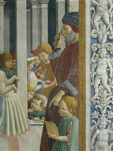 Stories of St. Augustine: Teacher and Pupils, 1465 by Benozzo Gozzoli