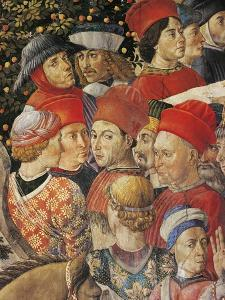The Cavalcade of the Magi, 1459 by Benozzo Gozzoli