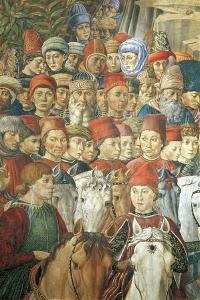 The Cavalcade of the Magi by Benozzo Gozzoli