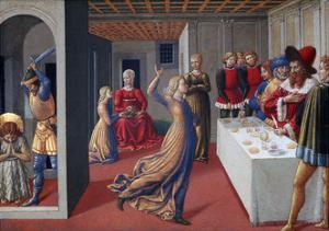 The Feast of Herod and the Beheading of Saint John the Baptist, 1461-1462 by Benozzo Gozzoli