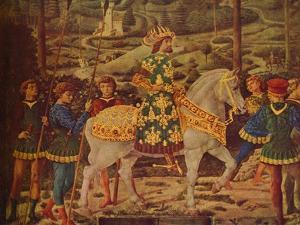'The Journey of the Magi', 1459-1461 by Benozzo Gozzoli