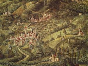 The Magi King's Journey to Bethlehem, 1459 by Benozzo Gozzoli