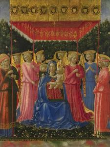 The Virgin and Child with Angels, C. 1450 by Benozzo Gozzoli
