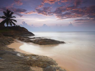 Bentota Beach at Sunset, Western Province, Sri Lanka, Asia-Ian Trower-Photographic Print