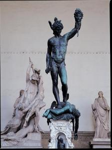 Perseus with the Head of Medusa, 1545-54 by Benvenuto Cellini