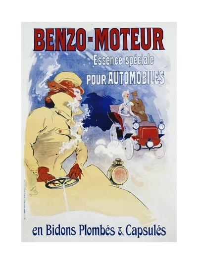Benzo-Moteur Poster-Jules Ch?ret-Giclee Print