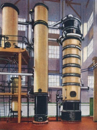 Benzole recovery plant, 1938-Unknown-Giclee Print
