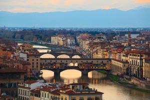 Ponte Vecchio, Florence by bepsimage