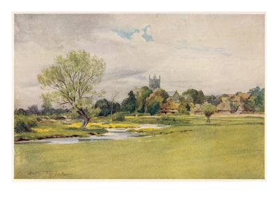 Bere Regis 1906--Giclee Print