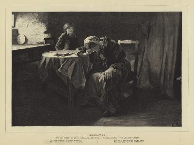 Bereaved-Frank Holl-Giclee Print