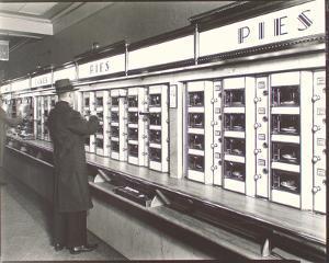 Automat, 977 Eighth Avenue, Manhattan by Berenice Abbott
