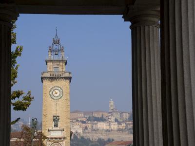 Bergamo, Lombardy, Italy, Europe-Charles Bowman-Photographic Print