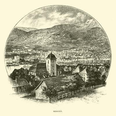 Bergen--Giclee Print