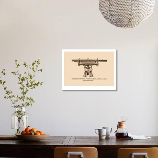Berger 18 Monitor Type Wye Level Art Print Art Com