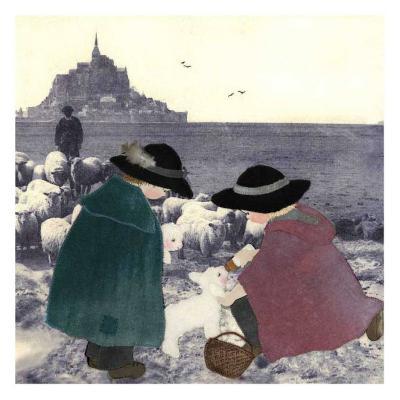 Bergers Secours-Diane Ethier-Art Print