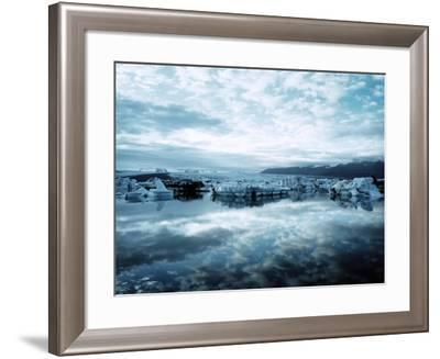 Bergy Bits Near Pack Ice--Framed Photographic Print