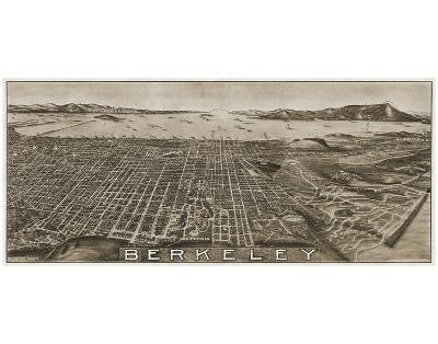 Berkeley, California, 1909-Charles Green-Art Print