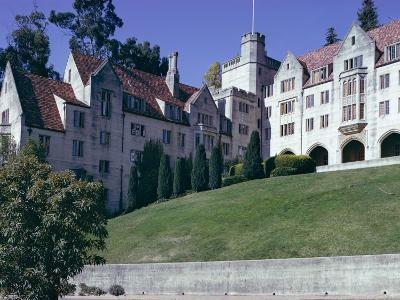 Berkeley University, Near San Francisco, California, USA-Walter Rawlings-Photographic Print