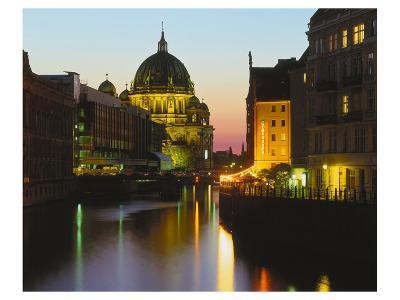 Berlin Cathedral River Berlin--Art Print
