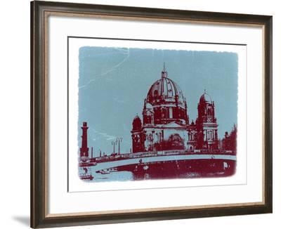 Berlin Cathedral-NaxArt-Framed Art Print