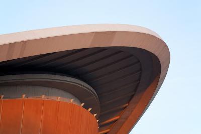 Berlin, Convention Hall, Haus Der Kulturen Der Welt, Architecture, Detail, Roof-Catharina Lux-Photographic Print