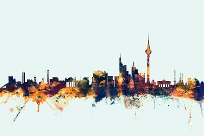 Berlin Germany Skyline-Michael Tompsett-Art Print