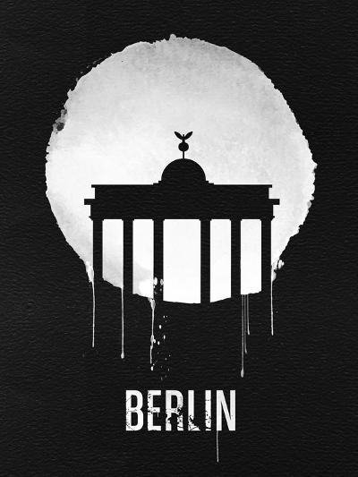 Berlin Landmark Black--Art Print