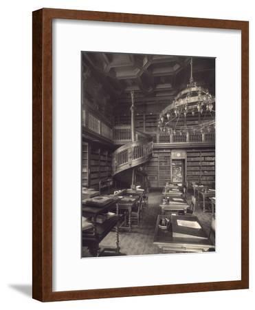 Berlin, Reichstag, Library