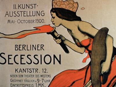 Berlin Secession', Poster for the Exhibition from May-October 1900--Giclee Print