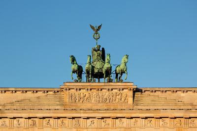 Berlin, the Brandenburg Gate, Quadriga-Catharina Lux-Photographic Print
