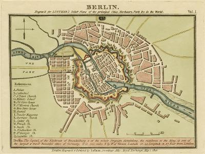 Berlin- the Captal of the Electorate of Brandenburg, Germany 180- Luffman-Giclee Print